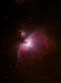 Orion Nebula by Ninian Boyle
